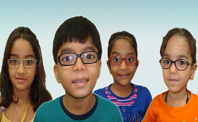Getting your kids to wear their glasses